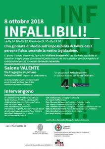 """A Milano il convegno """"Infallibili"""" sui diritti immobiliari"""