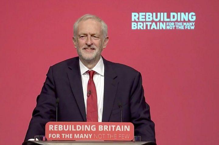 Jeremy Corbyn en el Congreso Laborista: nuestra tarea es reconstruir Gran Bretaña