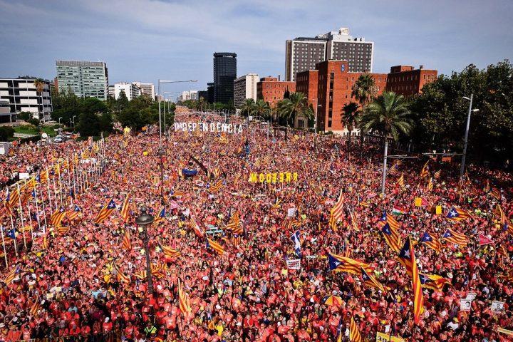 11 de Septiembre 2018: Palabras de Aamer Anwar, Ben Emmerson y  Thomas Schulze en la Diada Nacional catalana