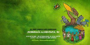 La Vía Campesina anunciará esfuerzo de movilización masiva contra el trío criminal del Banco Mundial, el FMI y la OMC