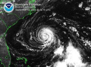 Dez milhões de norte-americanos estão ameaçados pelo furacão Florence