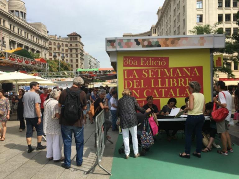 """36a edició de la """"Setmana del Llibre en Català"""". Barcelona"""