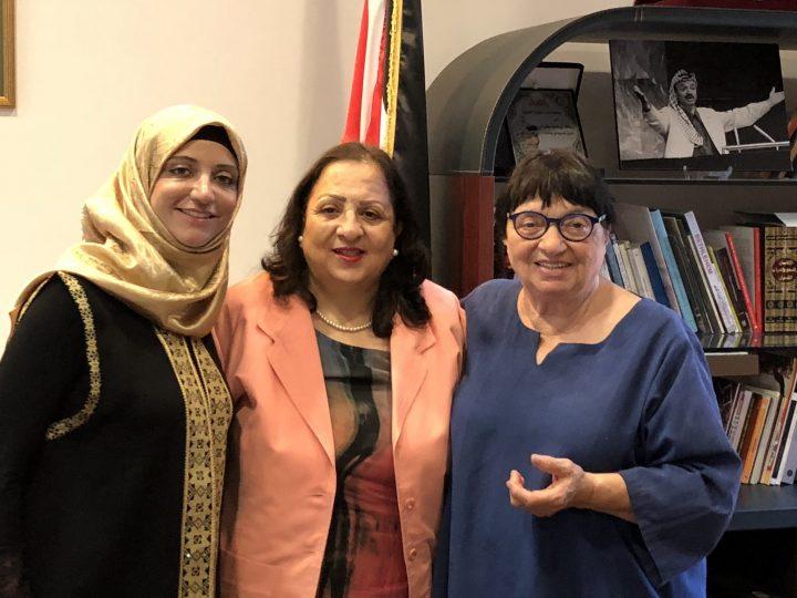 Luisa Morgantini intervista Shireen Essawy