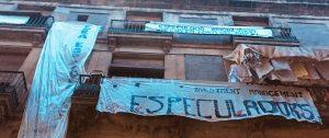 Vecinos del Raval de Barcelona denuncian el acoso inmobiliario