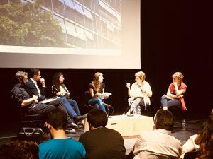 Debate en apoyo de la cesión del 30% de vivienda protegida en Barcelona