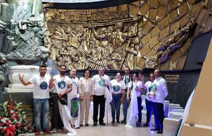 Cidade de Manta na Colômbia Recebeu membros da equipe base da primeira Marcha Sul Americana