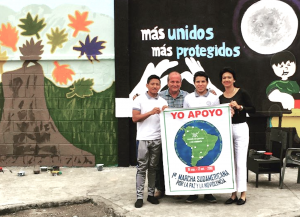 South American March for Peace and Nonviolence: About to Begin