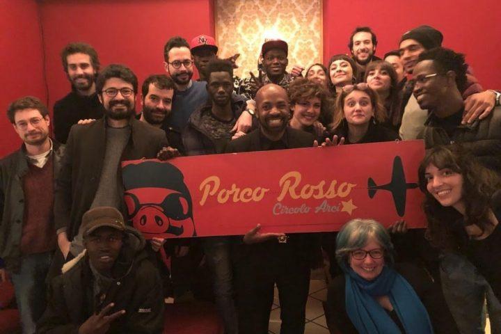 """Circolo Arci """"Porco Rosso"""" di Palermo, un luogo di solidarietà e socialità"""
