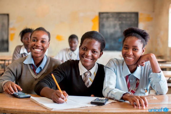 UNICEF partecipa aGeneration Unlimited: nuova iniziativa mondiale per garantire istruzione di qualità e formazione ai giovani