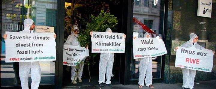 Kein Geld für Klimakiller RWE
