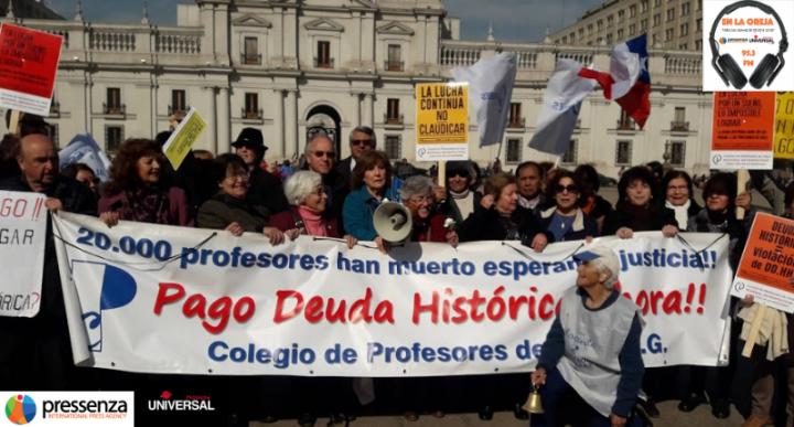 Patricia Garzo y Patricia Muñoz: la deuda histórica de los profesores de Chile