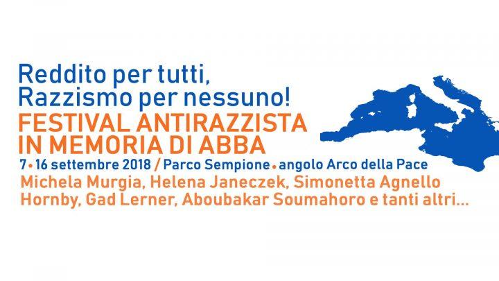 Festival antirazzista per Abba: scrittori e ospiti internazionali, incontri pubblici e performance