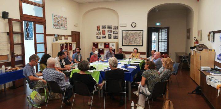 Primera reunión del Comité Promotor Italiano de la Segunda Marcha Mundial por la Paz y la No Violencia