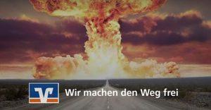 Volksbanken finanzieren Atomwaffenhersteller – Friedensnobelpreisträger ICAN startet Kampagne