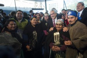 Piñera presenta desde Temuco su Acuerdo por la Araucanía