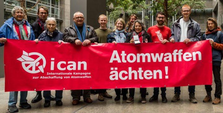 Letztjähriger Friedens-Nobelpreisträger ICAN bedankt sich und kämpft mit viel Elan weiter