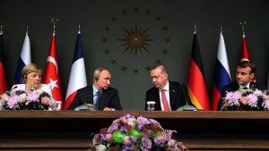 Rusia, Turquía, Alemania y Francia llaman a crear un comité para la reforma constitucional en Siria