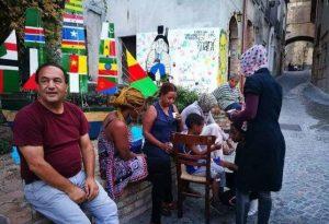 Campaña en España solicitando la liberación del italiano Domenico Lucano, Alcalde de Riace
