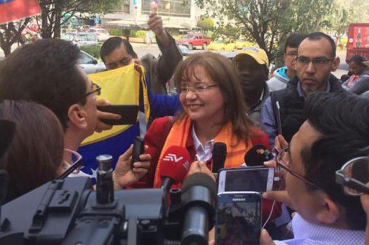 Embajadora de Venezuela en Quito se despide de Ecuador