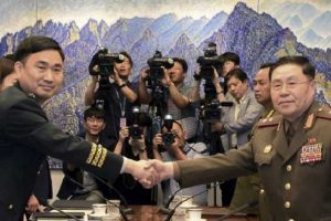 Les généraux des deux Corées dialoguent au 38e parallèle nord