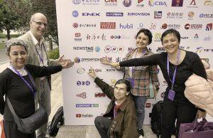 Die Welt öffnen und verbinden: Pressenza auf dem Global Media Forum (VMF2018), Chongqing, China