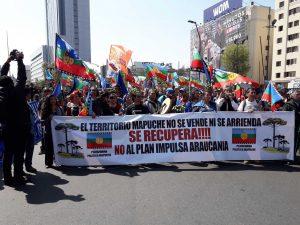 Chile: Marcha por la Resistencia Mapuche