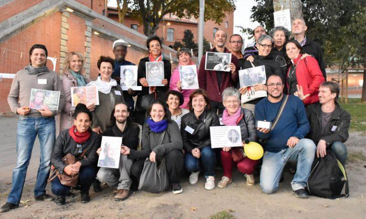 Journée internationale de la Non-violence à Toulouse avec le  Collectif 1000 et 1 créateurs d'une éducation joyeuse