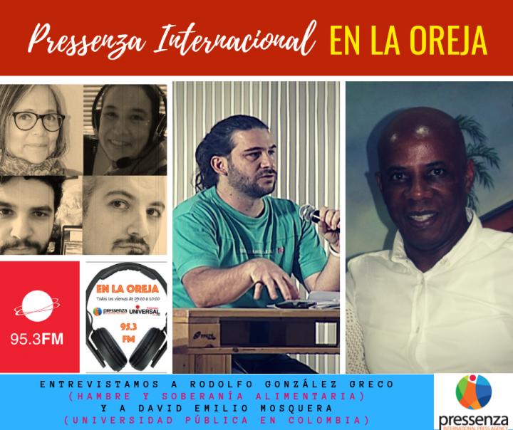 Pressenza Internacional En La Oreja – 12/10/2018