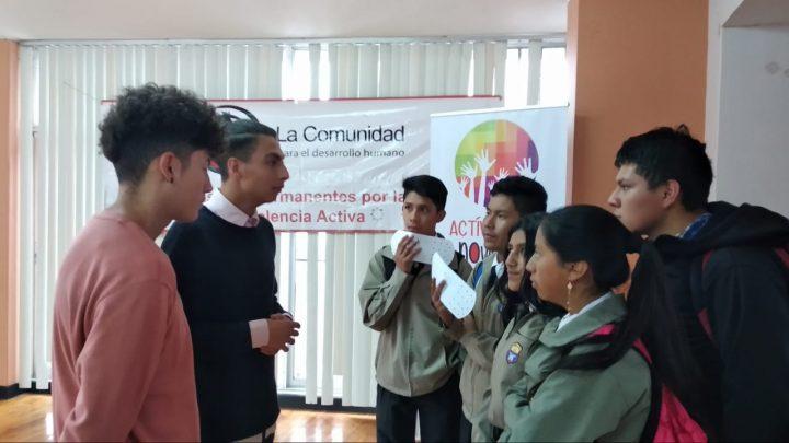 Campaña Microagresiones- -macroimpactos, 3era. edición en Ecuador