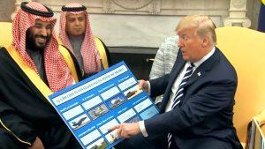El presidente de EE.UU., Donald Trump, rechaza llamamiento a detener la venta de armas a Arabia Saudí