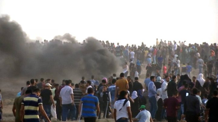 Gaza: fuerzas israelíes disparan y hieren a 130 manifestantes palestinos