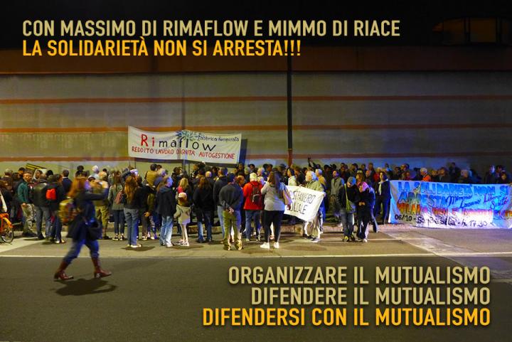 Solidarietà a Massimo Lettieri di RiMaflow e Mimmo Lucano sindaco di Riace