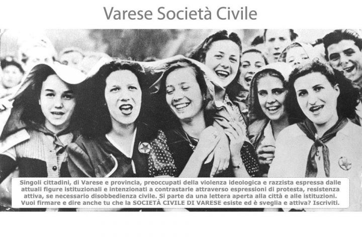 Varese società civile dice no all'odio e alla violenza