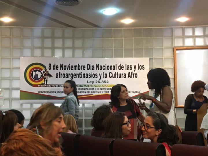 En su Día Nacional, Afroargentina/os reclaman por implementación del INAFRO