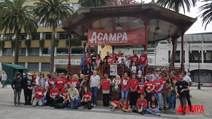 Siete de cada nueve visitantes de Acampa 2018 apoyan ahora el derecho a refugio de las personas desplazadas