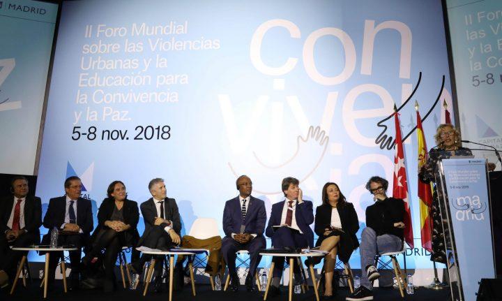 Forum de Madrid sur la violence urbaine : le dialogue comme solution