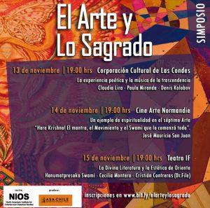 """Simposio Internacional """"El Arte y Lo Sagrado"""""""