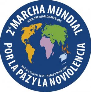 Lançamento da 2ª Marcha Mundial pela Paz e a Não VIolência no Fórum Mundial Cidades de Paz em Madri
