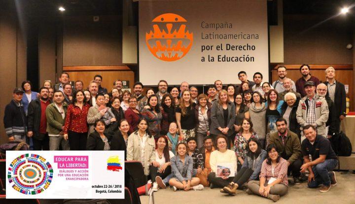 X Asamblea Regional de CLADE: llamado por la realización de una educación emancipadora y garante de derechos