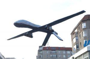 Die Drohnenpolitik der Verteidigungsministerin Frau von der Leyen: tricksen, täuschen, lügen!