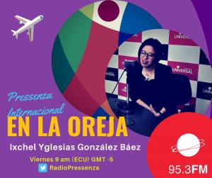 """Ixchel Yglesias González Báez: """"El capitalismo no hubiera existido si no es por la trata"""""""