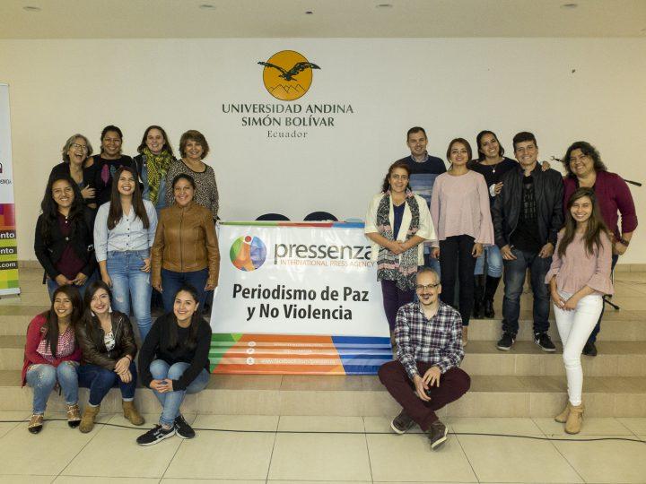 Jornadas Internacionales de Periodismo con Enfoque de Paz y Noviolencia.