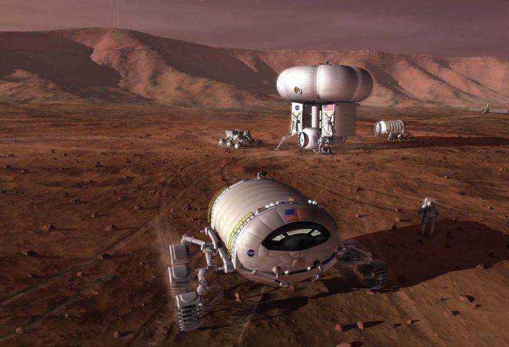 Vacanze su Marte
