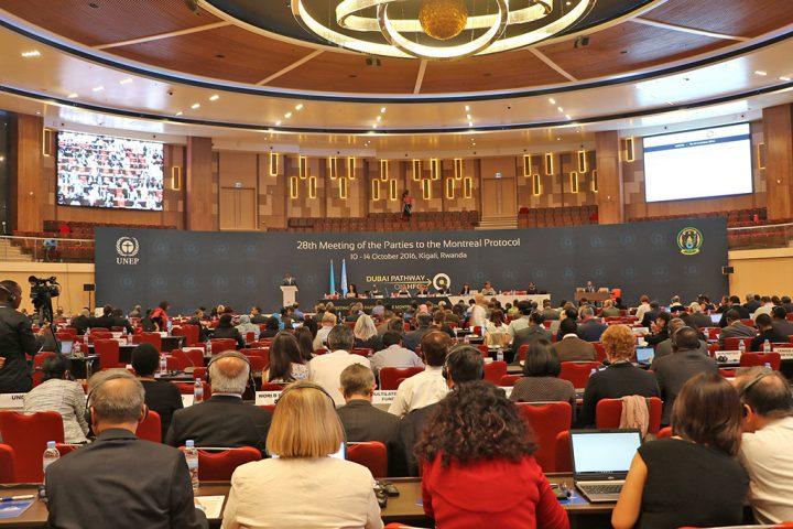 O mundo se une no Equador para proteger a camada de ozônio