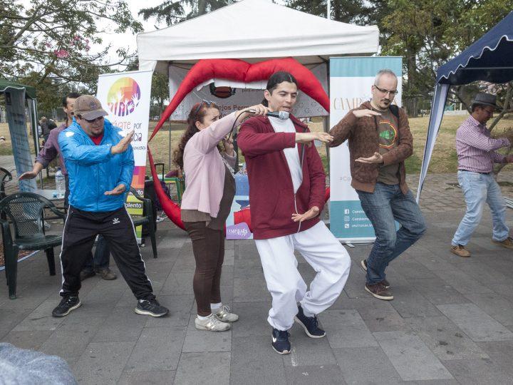 7ma Feria de Iniciativas NoViolentas en Quito, Ecuador