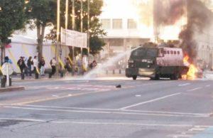 Chile. Asesinato de comunero mapuche por la policía: La solidaridad antifascista arde en Santiago