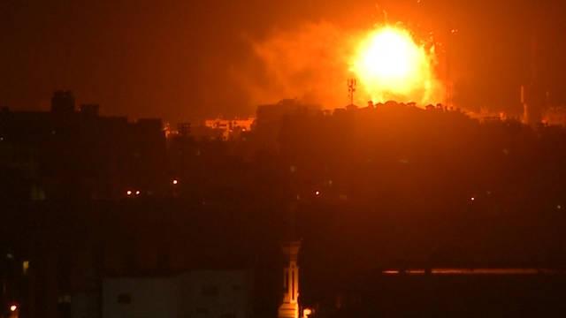 Gaza: alto el fuego detiene el lanzamiento de cohetes palestinos y ataques aéreos israelíes