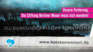 East Side Gallery vs. Stiftung Berliner Mauer