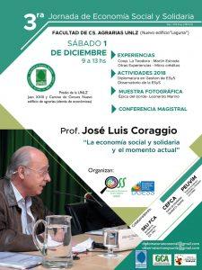 Jornada de Economía Social y Solidaria en la Universidad Nacional de Lomas de Zamora