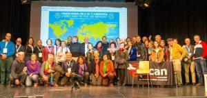 Lancement officiel de la 2ème Marche mondiale pour la paix et la nonviolence à Madrid